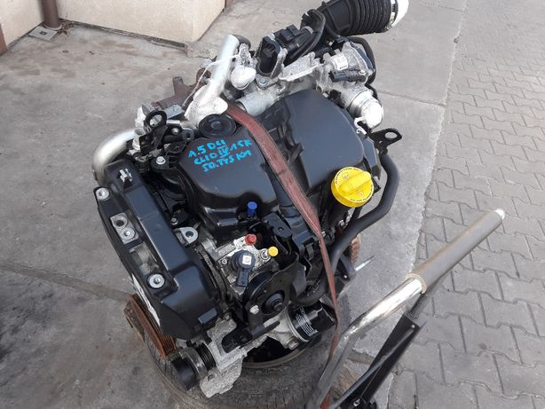 silnik kompleny clio IV dacia sandero captur 1.5 DCI 50 tys km