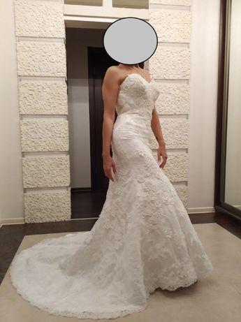 СРОЧНО! ЦЕНУ СНИЗИЛА!Свадебное платье рыбка, Justin Alexander Limited