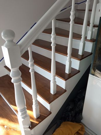 Renowacja schodów, cyklinowanie bezpyłowe, olejowanie, układanie