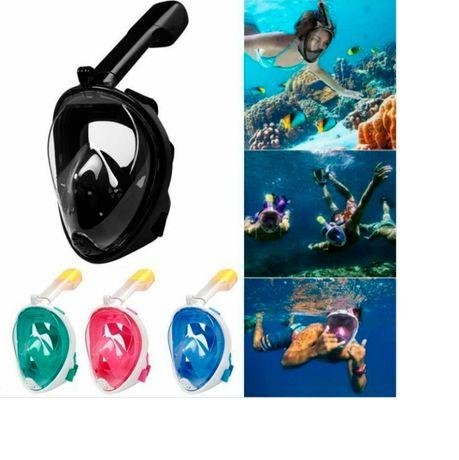 Маска полнолицевая,Маска для снорклинга,Маска для подводного плавания
