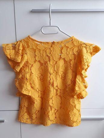 Bluzka 36/38 żółta