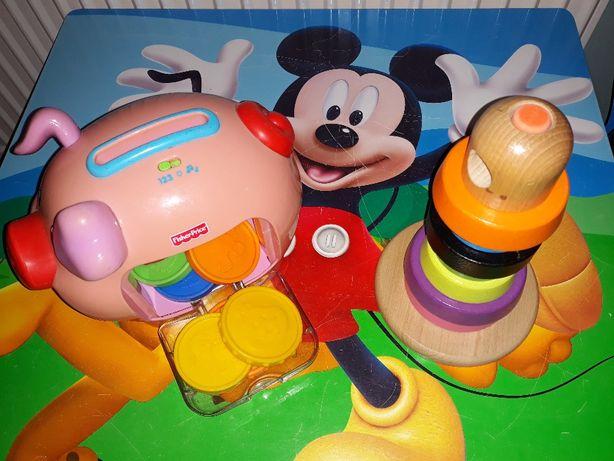 Zabawki edukacyjne dla najmłodszych