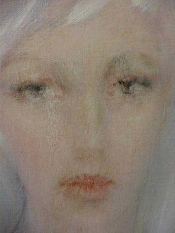 Картина живопись маслом девушка эротика ню, обнаженная.