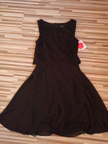 Sukienka koktajlowa czarna