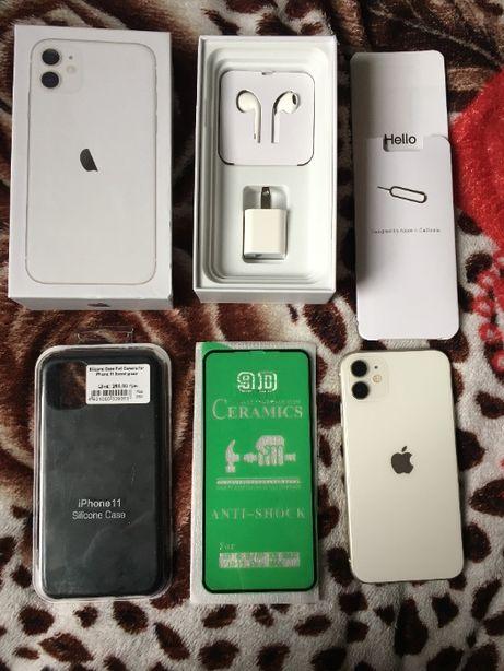Iphone 11 Neverlock на официальной гарантии от Apple (обмен на 12mini)