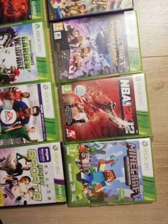Xbox 360 +kineckt +2 pady +11 giet