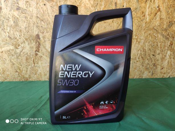 Olej Champion 5w30 5 L-Wyprzedaz magazynu