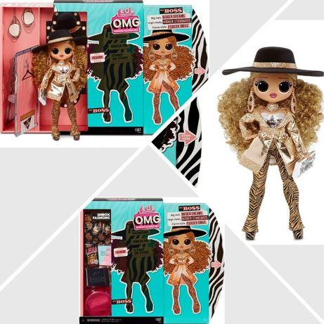 Оригинал большая кукла LOL Surprise OMG Series 3 Da Boss Леди Да Босс