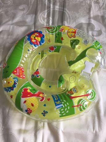 Надувной круг для новорождённых