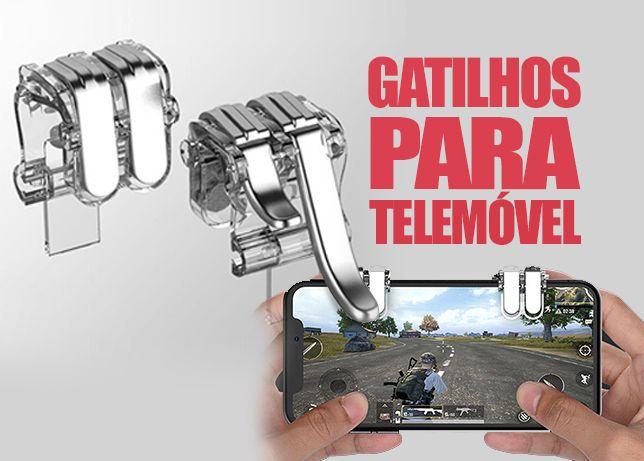Gatilhos para jogos de telemovel Android e iPhone - 4 botoes