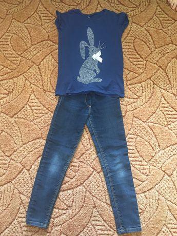 Набор комплект Лосины (легинсы) и футболка George, как zara h&m next