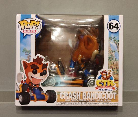 FUNKO POP! Crash Bandicoot 64 ! Pop Rides - Polecam