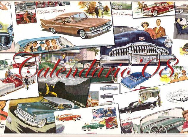 Calendário Carros Clássicos