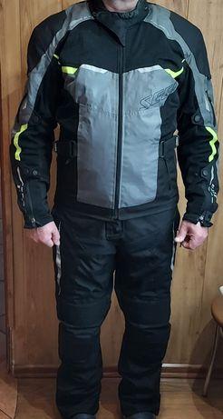 Kurtka i spodnie motocyklowe