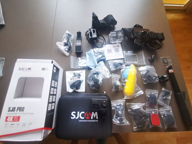 Go pro kamera sportowa SJCAM SJ8 PRO 4K