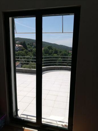 Portas e janelas de alumínio com vidro duplo