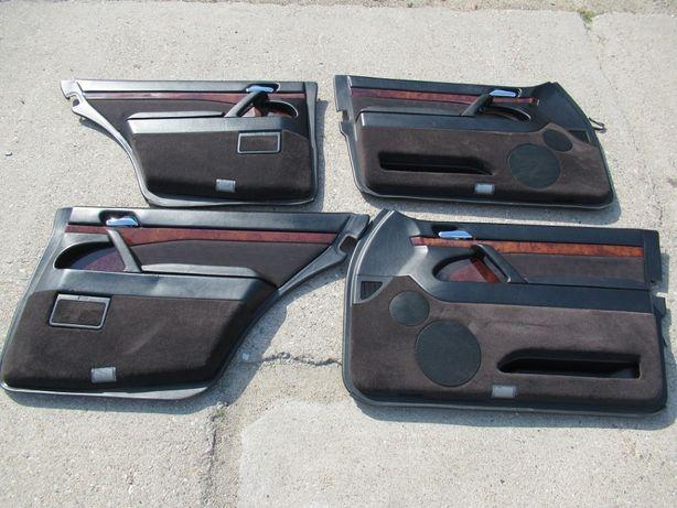 mercedes W140 SEDAN komplet boczków WELUR
