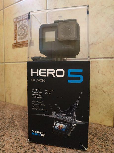 GoPro Hero 5 Black w bardzo dobryn stanie POLECAM