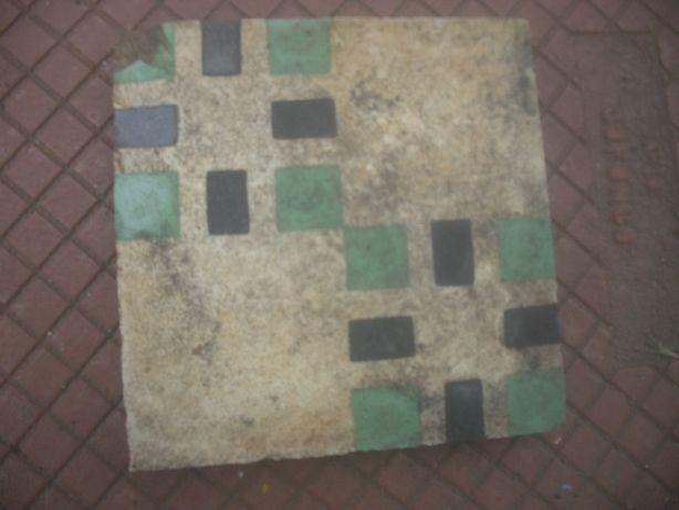 Mosaico hidráulico muito ANTIGO (1949)