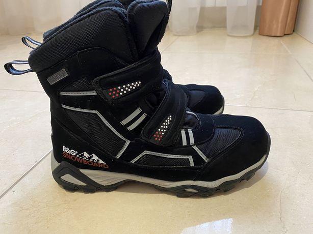 Зимние ботинко B&G 39