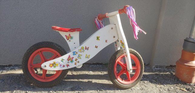 Rower dziecięcy biegowy biały 12