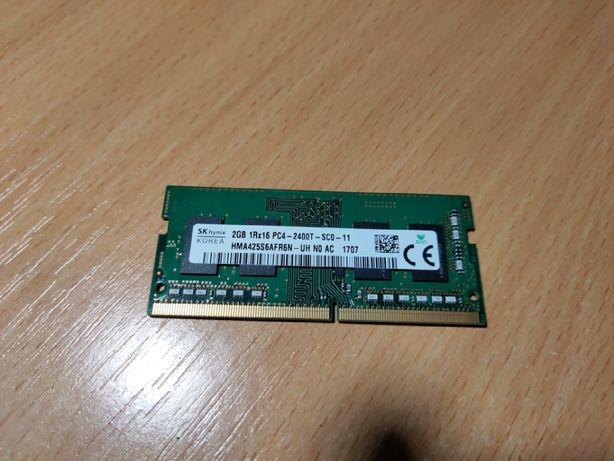 Оперативная память для ноутбука Hynix DDR4 2 Гб 2400 МГц