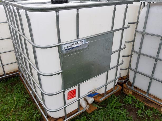 Zbiorniki 1000l , wkłady, mauser, transport do klienta.