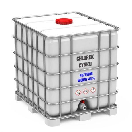 Chlorek cynku roztwór wodny 45 % DPPL 1200 kg