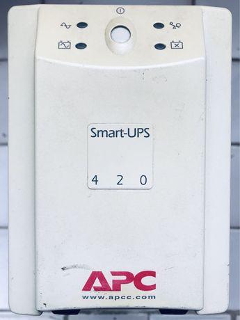 Безперебійний блок живлення ББЖ ИББ APC Smart UPS 420 VA 7A