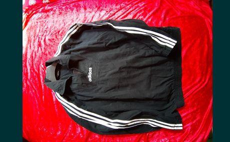 Adidas bluza czarna paski limited Edition L nie Nike Umbro kappa super