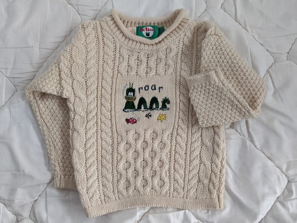 Очень теплый свитер