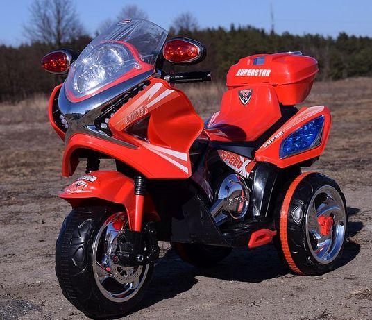 Duży motor motorek skuter na akumulator dla dzieci