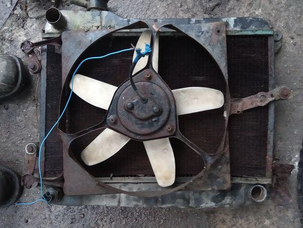 Продам пятилопостной вентилятор с радиатором