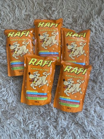 Karma rafi 5 opakowań