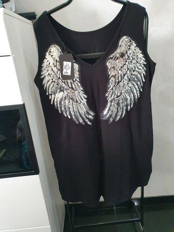 Tunika sukienka ze skrzydłami uniwersalna