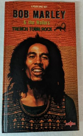 Bob Marley & The Wailers – Trench Town Rock (4 cd + book) Edição colec