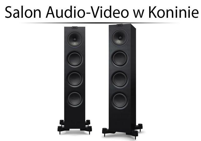 KEF Q550 Black Kolumny podłogowe - OD RĘKI - Instal Audio Konin