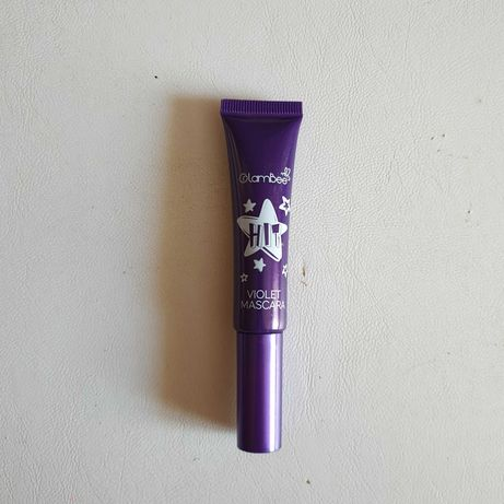 Новая Тушь для ресниц цветная GlamBee фиолетовая