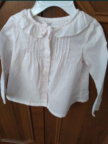 Koszula dziewczęca Zara 74 cm