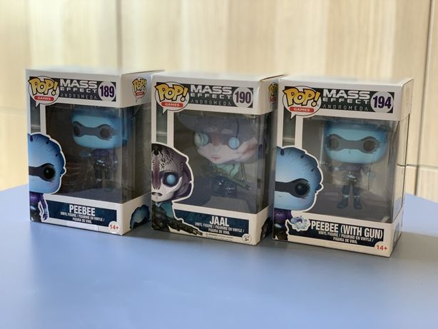 Funko Pop Games Mass Effect Andromeda