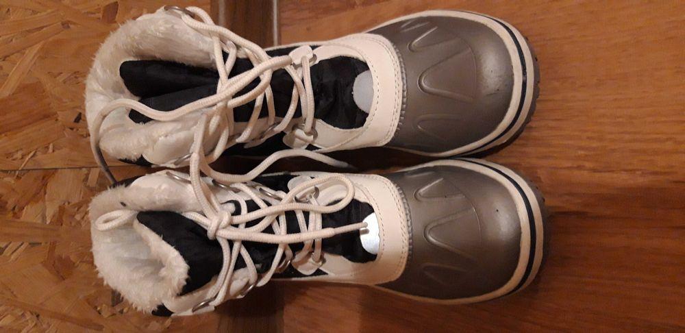 Buty na śnieg  dla dziewczynki rozm. 35 Włocławek - image 1