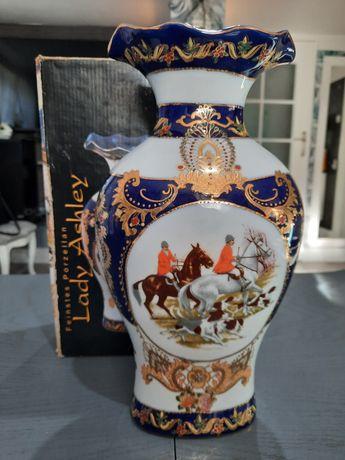 Lady Ashley wazon ręcznie malowany w stylu angielskim Okazja
