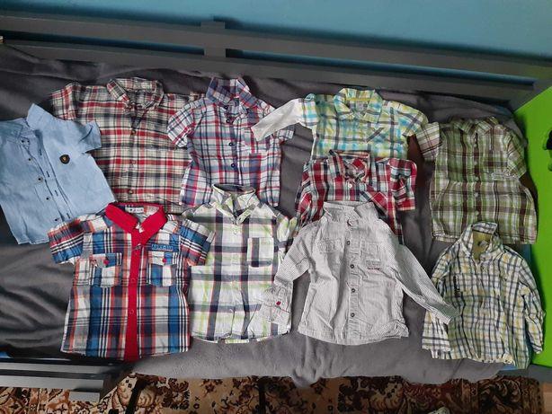 Sprzedam koszule dzieciece 80 86