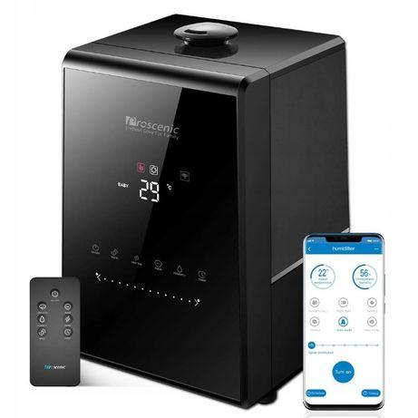 ultradzwiękowy nawilżacz powietrza idealny dla alergików dotykowy