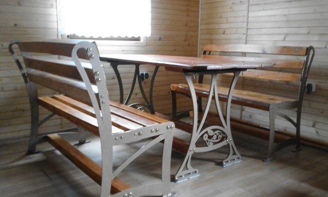 stól, ławka, meble ogrodowe