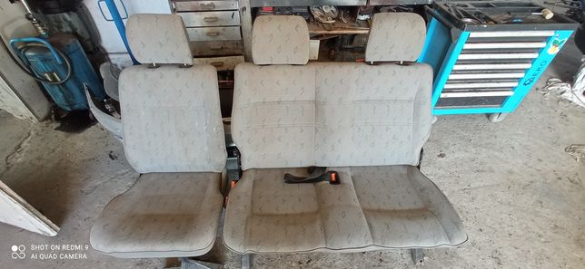 Fotele 2+1 VW T4 2 rząd transporter,caravelle
