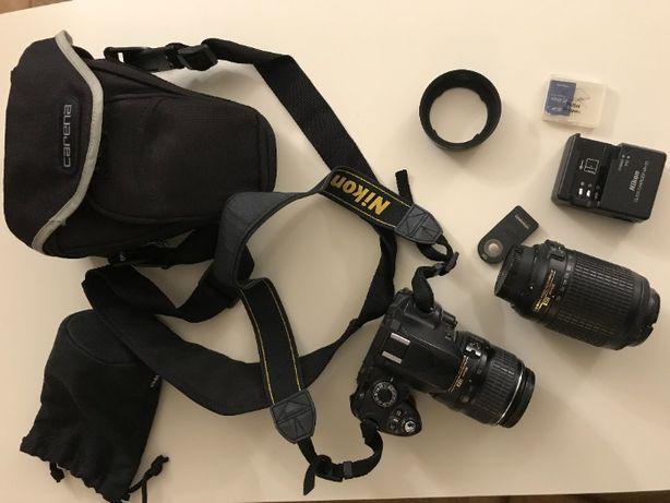 Nikon D40 zestaw z dwoma obiektywami