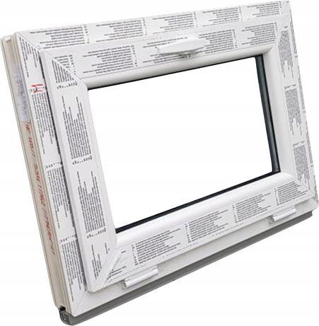 OKNA KacprzaK OKNO PCV 60X40 Nowe okno plastikowe