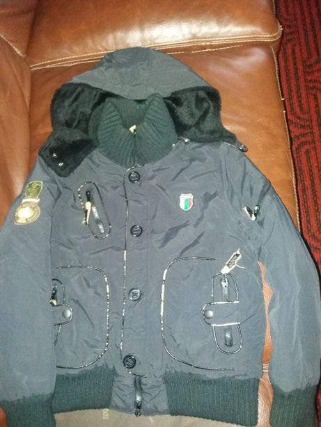 Куртка тёплая зимняя для мальчика 10-13 лет