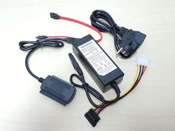 L011 USB 2.0 - SATA / IDE 2,5 & 3,5 Com Transformador
